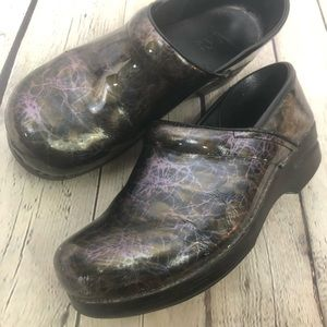 Dansko Metallic Clogs